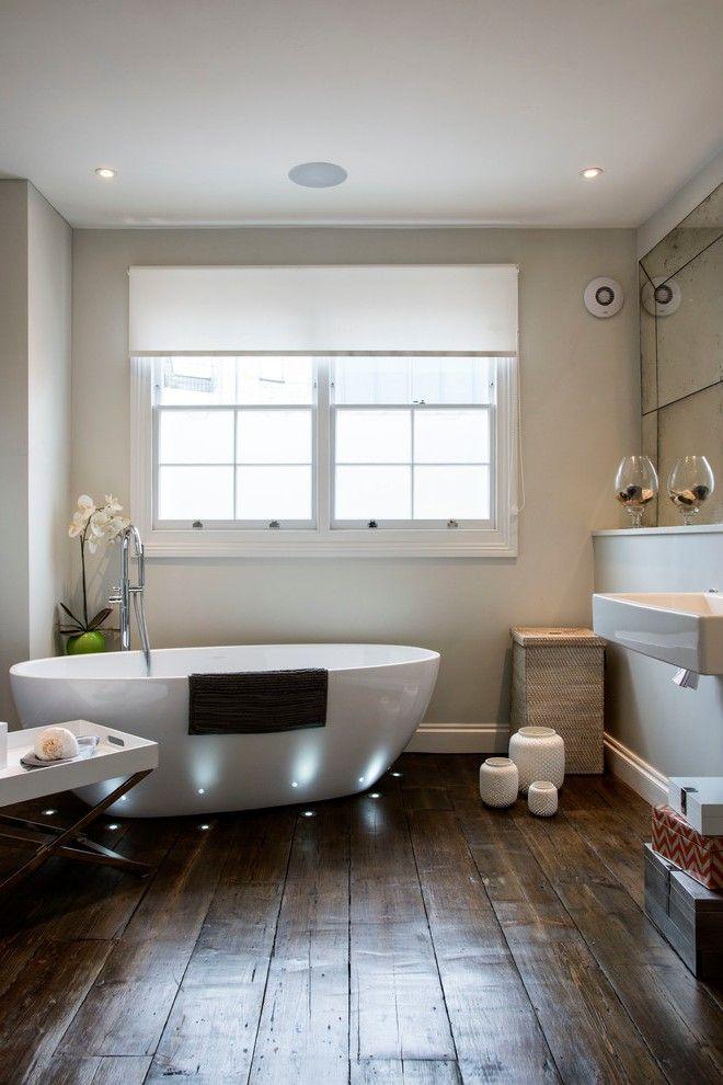 cork flooring reviews with concrete mid century modern minimal rh pinterest com Cork Bathroom Flooring Ideas Unusual Bathroom Flooring
