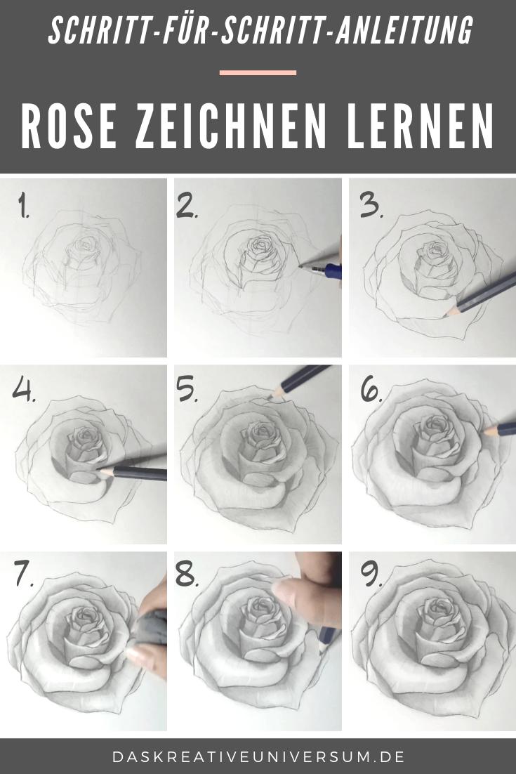 Rose Zeichnen Einfache Anleitung Mit Bleistift Rosen Zeichnen Zeichnen Lernen Zeichnen Lernen Mit Bleistift Wir haben ein paar tipps fuer euch welche grundlagen sollte ich fuer portrait zeichnungen mit bleistift fuer anfaenger kennen? rose zeichnen einfache anleitung mit