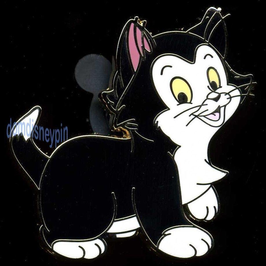 Disney Pin *Pinocchio* Character Series - Figaro the Black Cat!