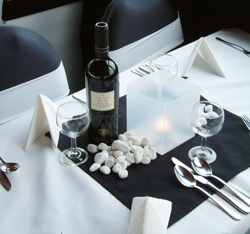 Fine Dining Table Set Up Table Settings Pinterest
