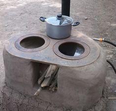 Manual para construir una cocina a le a mejorada construir tv casa pinterest le a tv y - Como hacer una chimenea casera ...