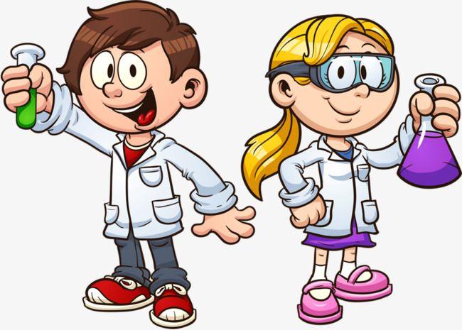 نتيجة بحث الصور عن دورق كرتون تجارب كيمياء Science For Kids Kids Vector Science Illustration