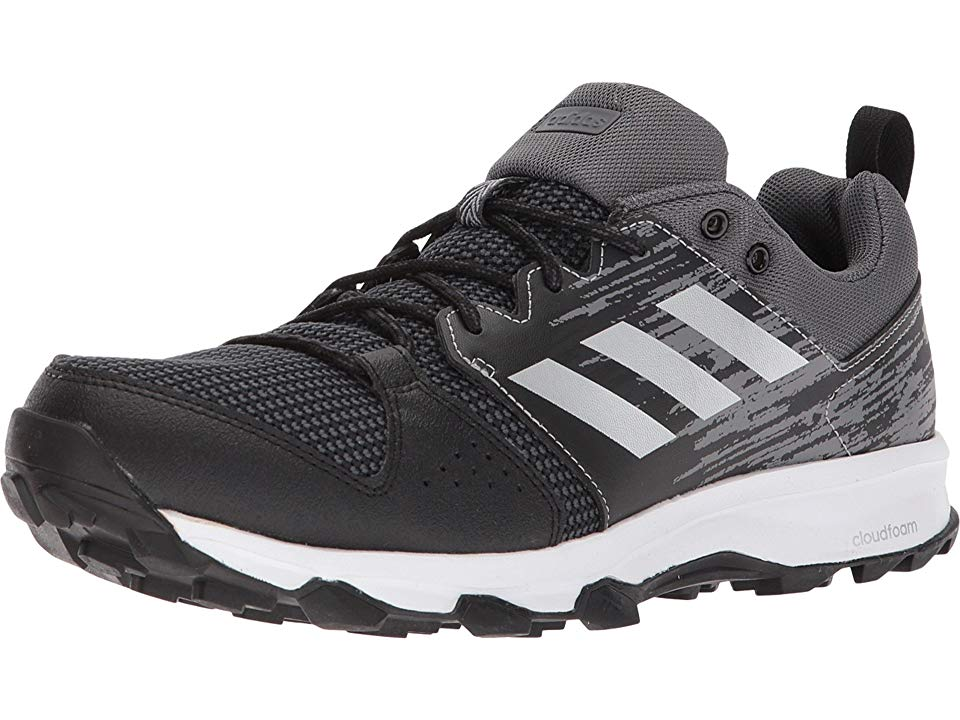 huge discount 39495 26808 adidas Outdoor Galaxy Trail Mens Running Shoes BlackMatte SilverCarbon