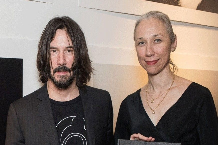 Keanu Reeves and Alexandra Grant. | Keanu in 2019 | Keanu ...