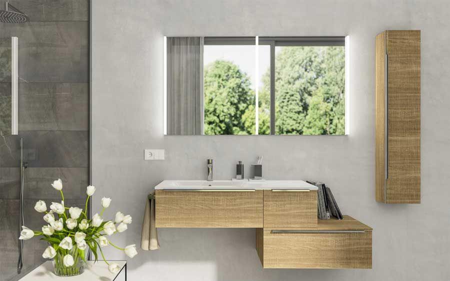 Armadio Bagno ~ Mobile bagno serie plana collezione mobili bagno di berloni