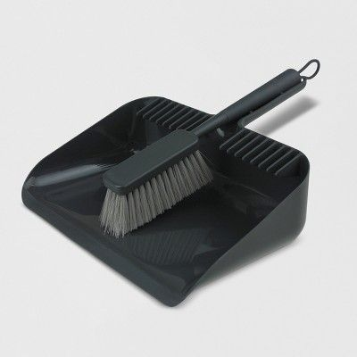 Hand Broom and Dust Pan Set - Made By Design , Gray in 2019