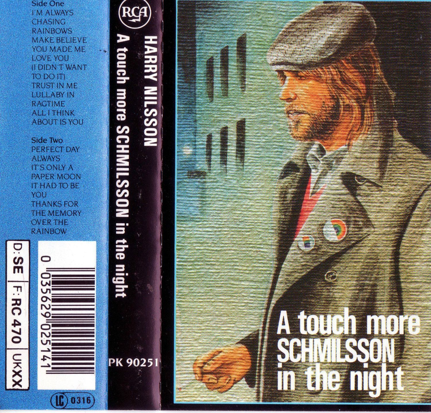 HARRY NILSSON A touch more SCHMILSSON in the night