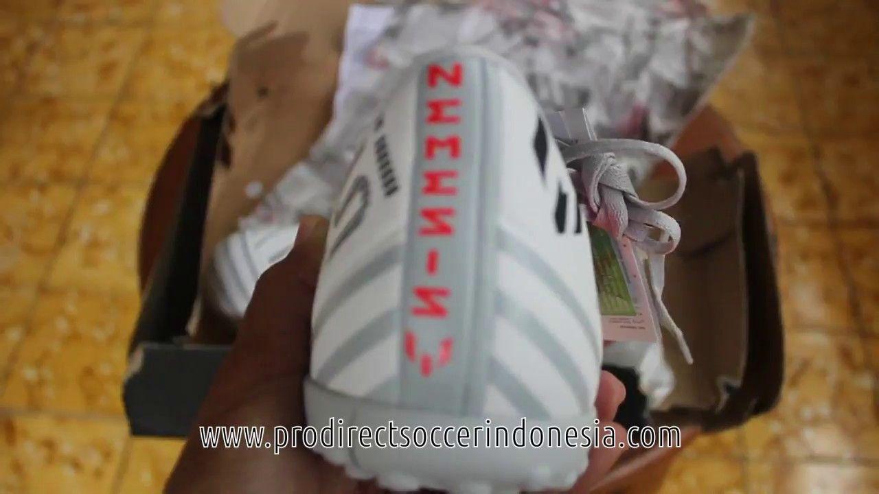 Sepatu Futsal Adidas Nemeziz Messi 17 4 Tf Ftw White S77205