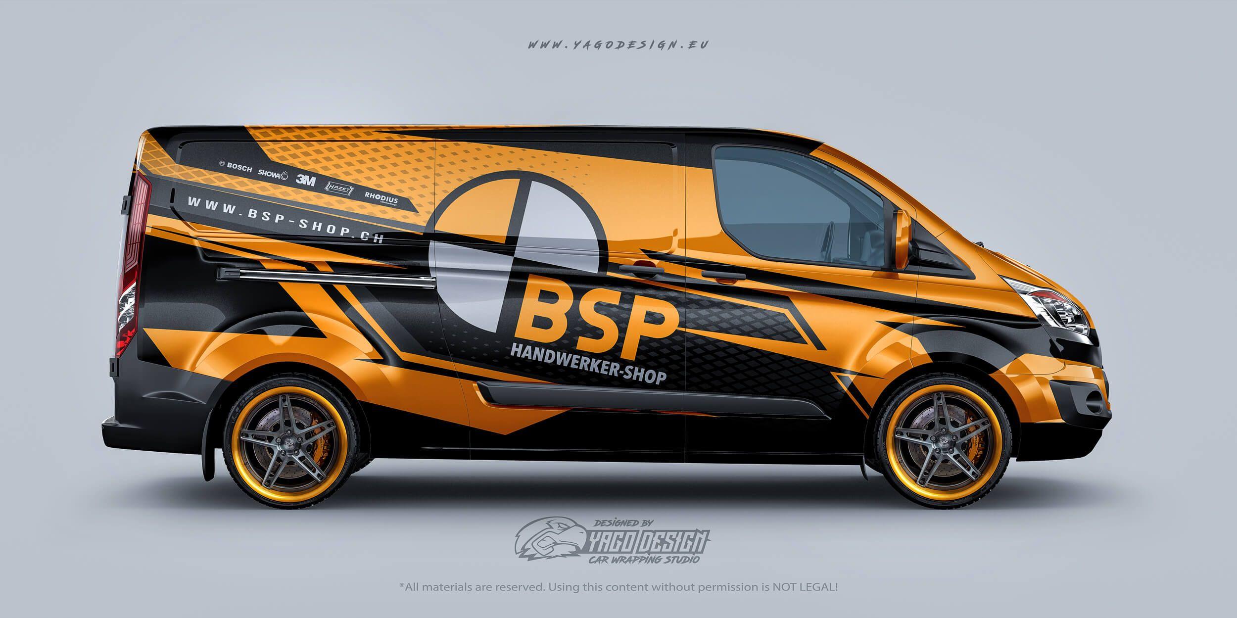S Ford Transit Custom Bsp Handwerker Shop S Yago Design