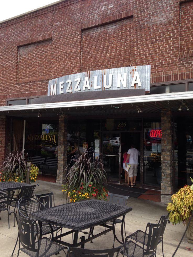 Mezzaluna Restaurant In Downtown Hendersonville Nc Eating
