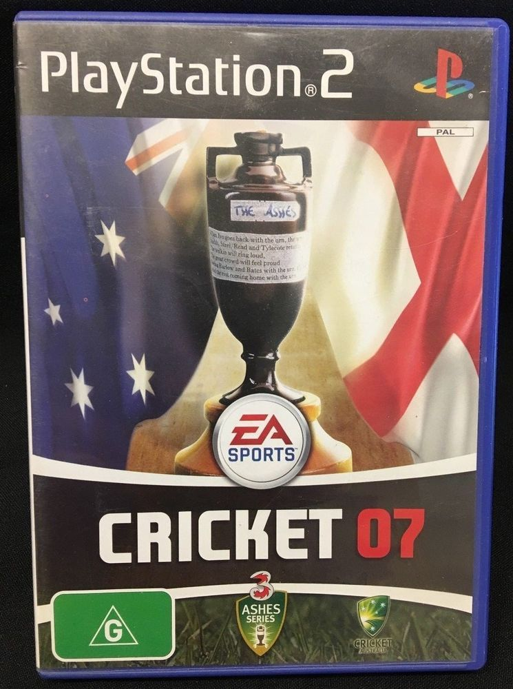 PS2 Playstation Game Cricket 07 Playstation games
