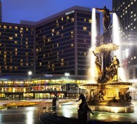 Overlooking Historic Fountain Square The Westin Boasts A Wonderful Location In Heart Of Cincinnati S