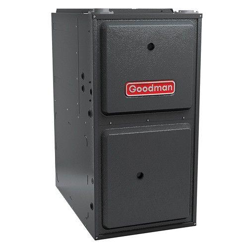 Goodman 96 Afue 80 000 Btu Upflow Variable Speed Gas Furnace 1600 Cfm Furnace Heater Gas Furnace Natural Gas Furnace