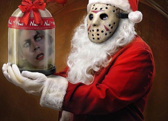 Pin By My Info On Christmas Horrors Christmas Horror Funny Horror Horror Movie Art