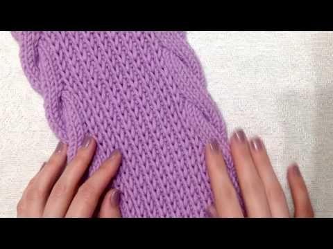 вязание шарфа вязание спицами как связать шарф Youtube мк