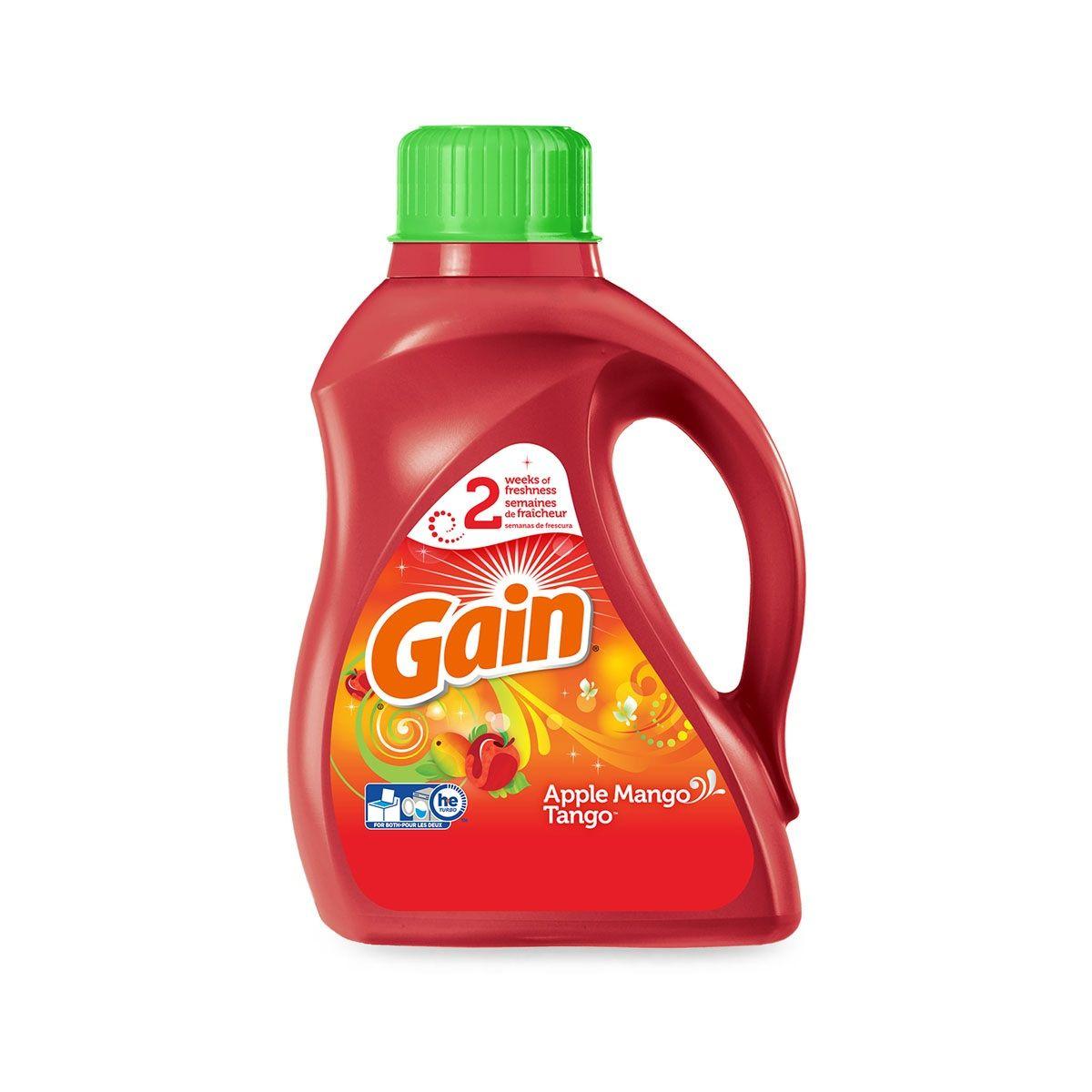 Gain liquid laundry detergent products laundry detergent
