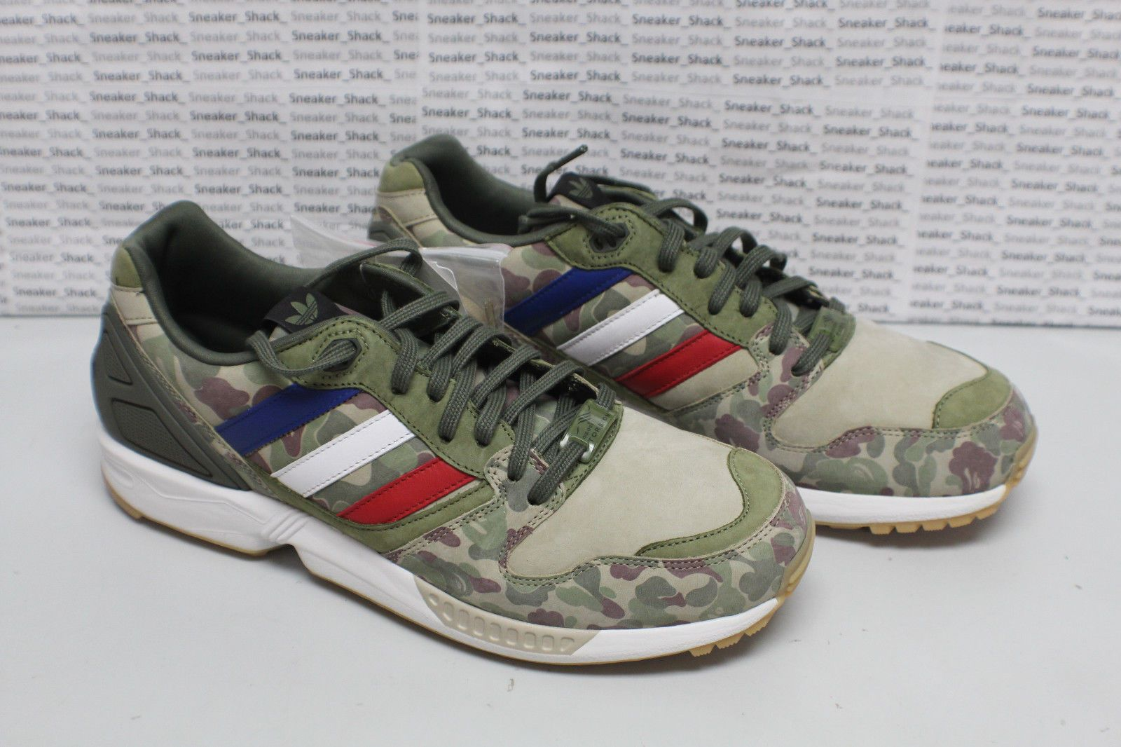74fe544dabd28 NEW DS Adidas Undefeated BAPE A Bathing Ape ZX 5000 Camo Q34751 - Size 8.5