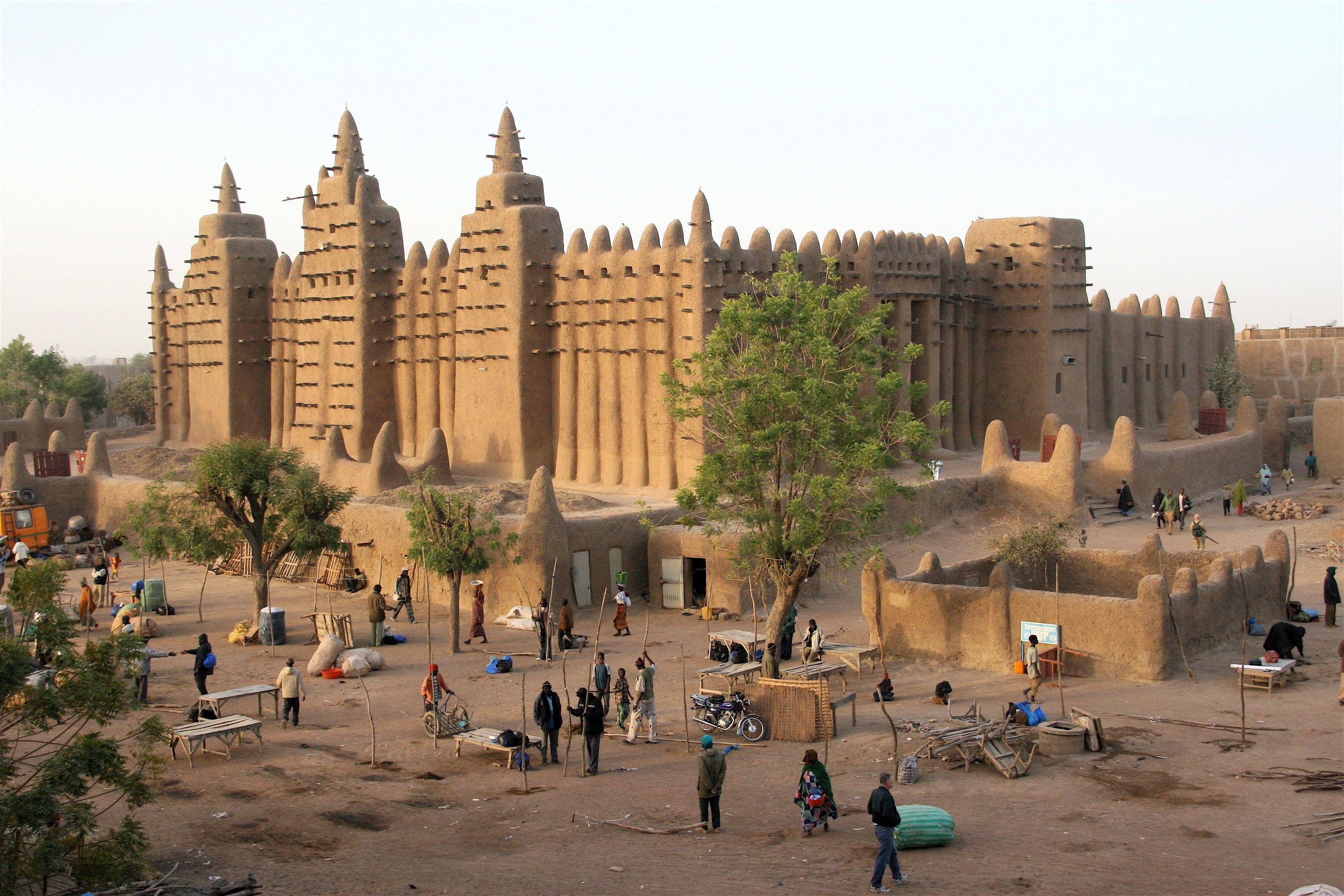 Djenne Mali Http Www Lonelyplanet Com Mali Niger River Route