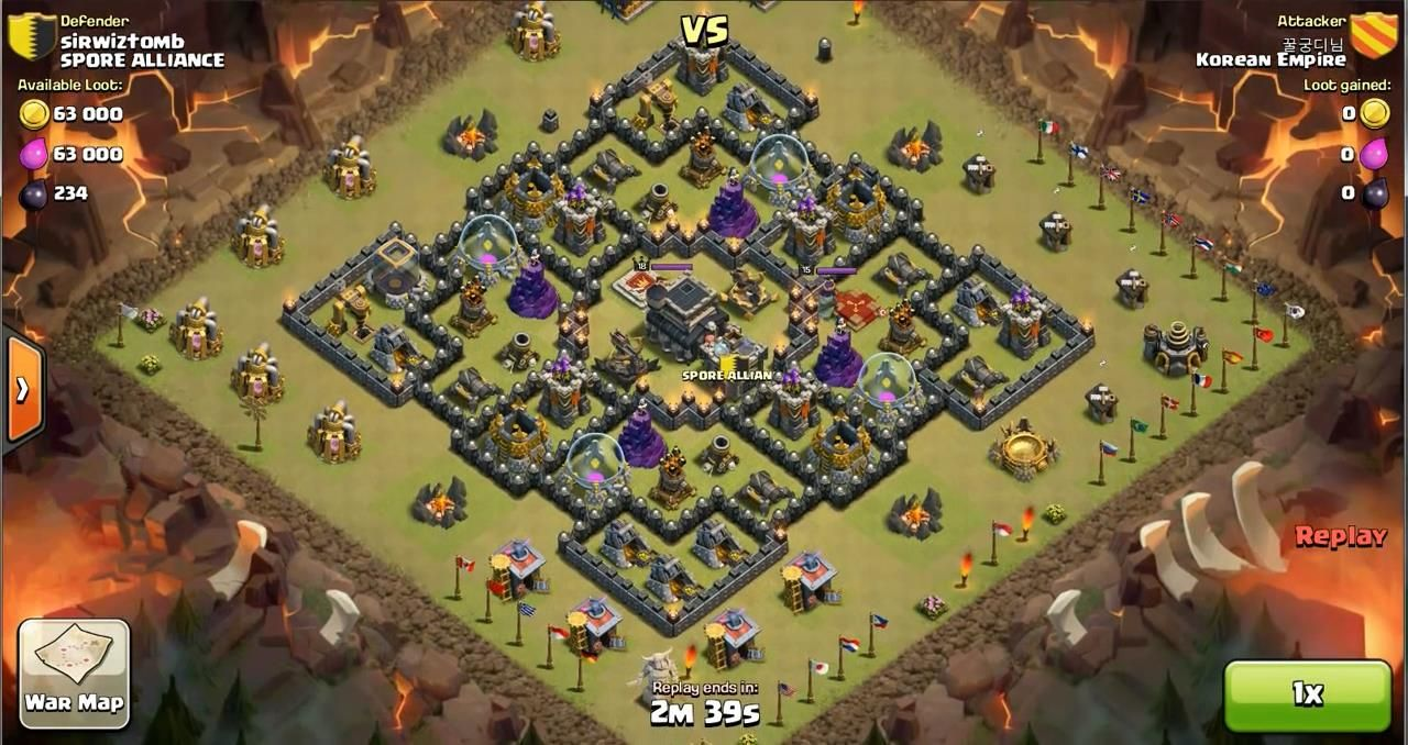 Clash of clans war base design level 9 town hall clash of clans war base design level 9 town hall clashofclans sciox Choice Image