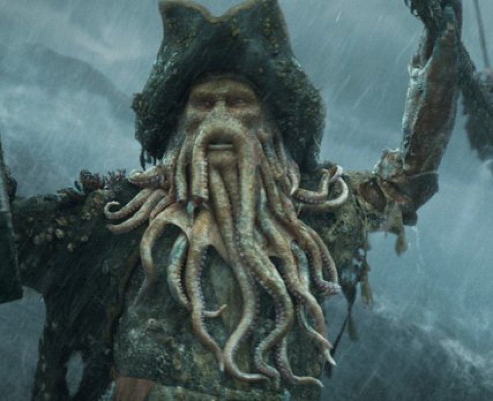 Davy Jones | Pirates of the caribbean, Davy jones, Davy jones pirates