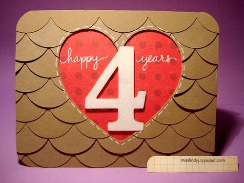 LOVE this, so making this for our 7 year anniversary!
