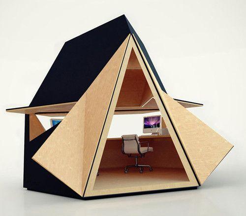 Tetra Shed contemporary prefab studios