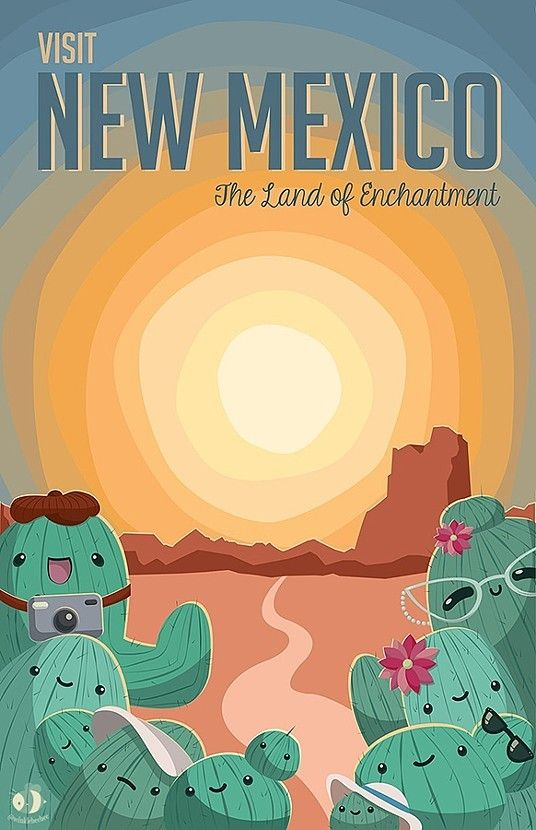 travel posters new mexico google