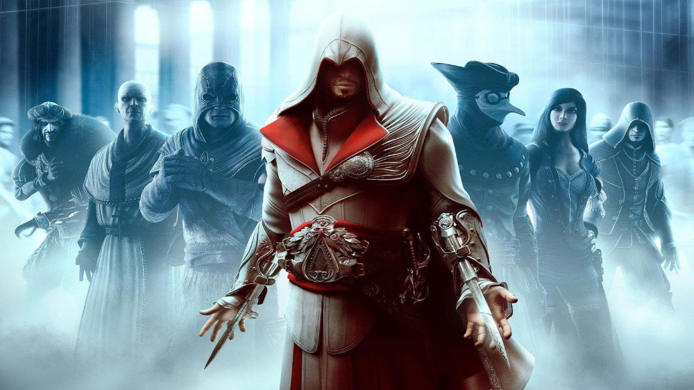 Download Games Wallpaper Hd 1080p Desktop 4k Ultra Hd Wallpapers 4k 5k And 8k Assassin S Creed Brotherhood Assassins Creed Assassin S Creed Hd