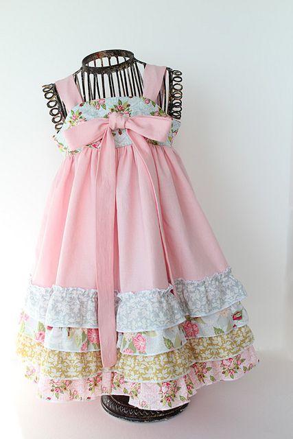pretty pinks and ruffles
