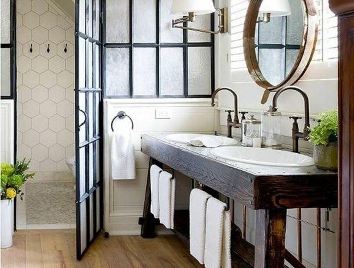 bader beispiele mit rundem badspiegel - Bader Bilder Beispiele