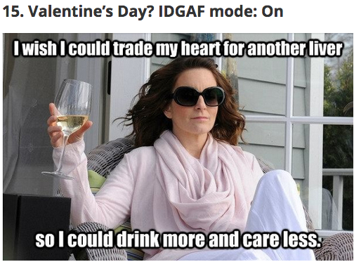 25 Valentine S Day Memes That Will Make You Lol Tina Fey Quotes Tina Fey Laugh