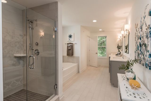 Custom Design Bathrooms New Liking This Bathroom Design  See Full Home Tour Here Https 2018