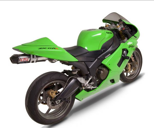 yoshimura rs 5 slip on exhaust for zx6r