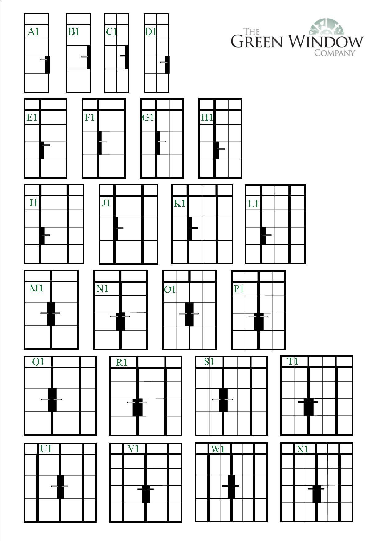 Select Your Steel Door Style