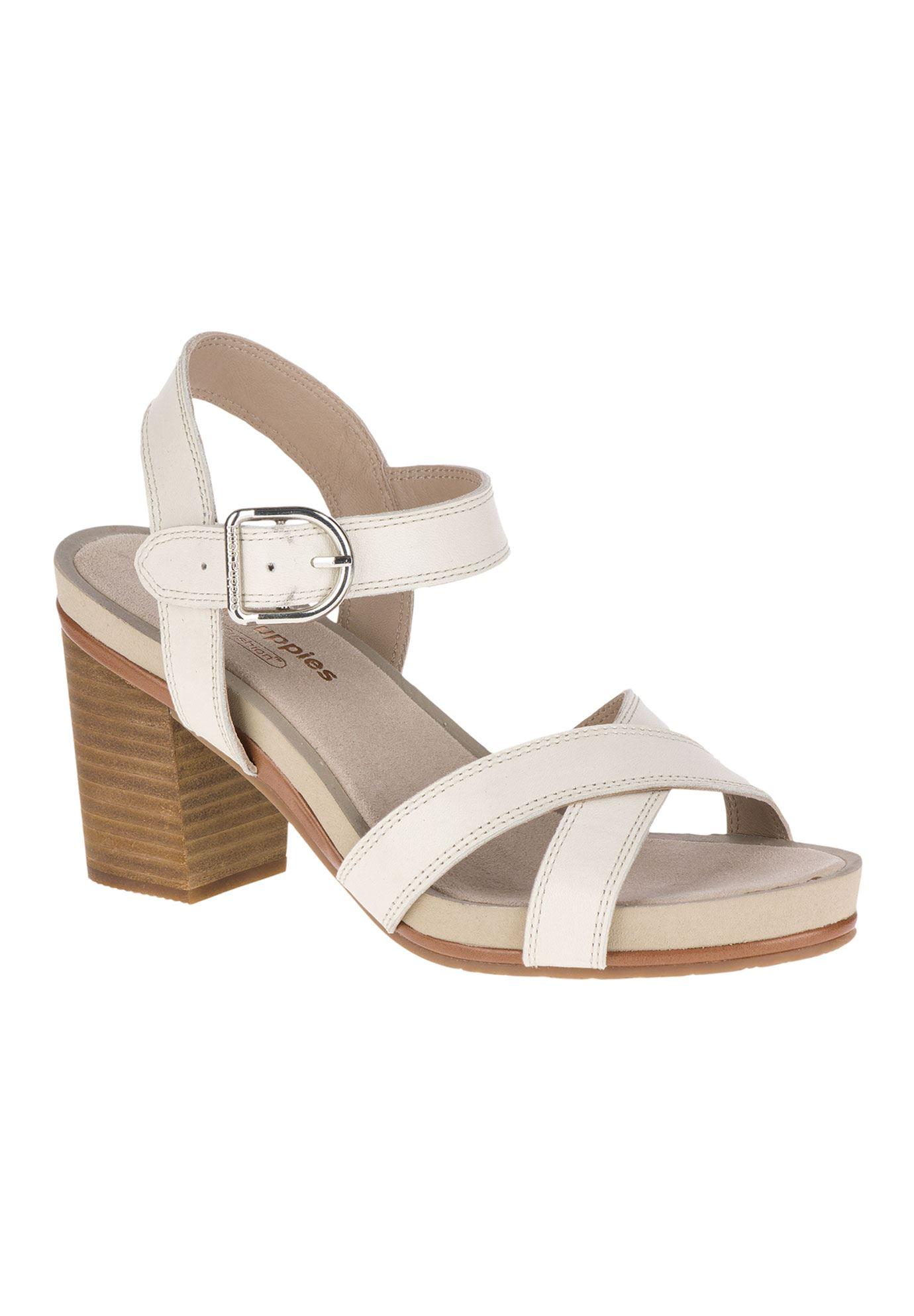 adc1b3c6353 Mariska Buckle Qtr Sandals by Hush Puppies - Women's Plus Size ...