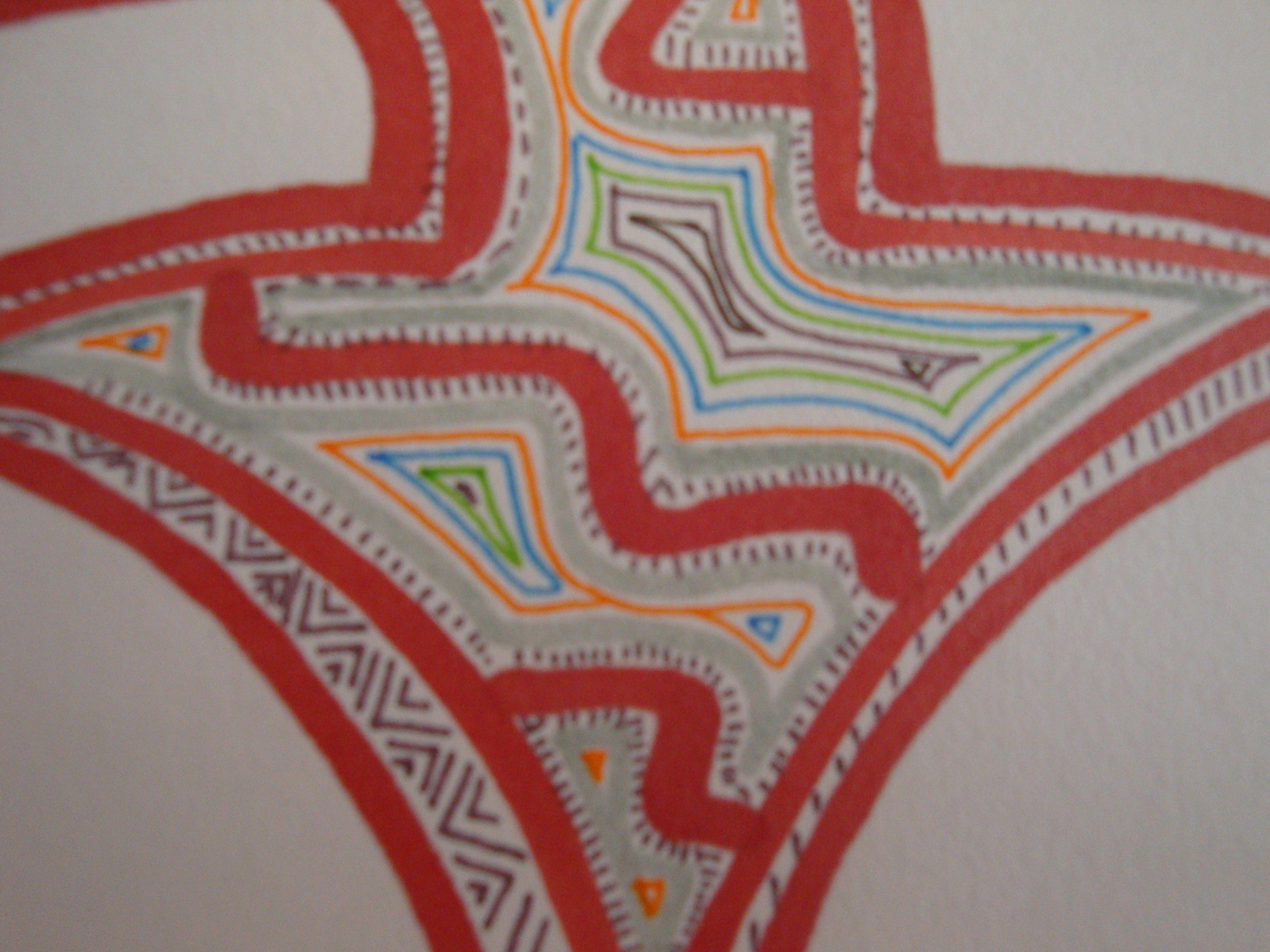 patterns, design, lines, colors, arrow