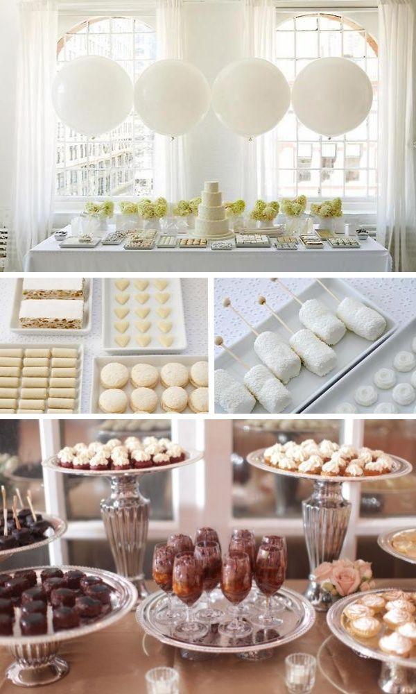 Lindsay Poroli Simple Dessert Table You Can Never Have Too Many Desserts Wedding Desserts Wedding Buffet Dessert Table Decor