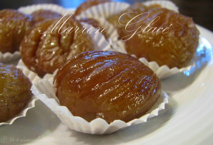 tè e cioccolato: Viziamoci con un Marron Glacé