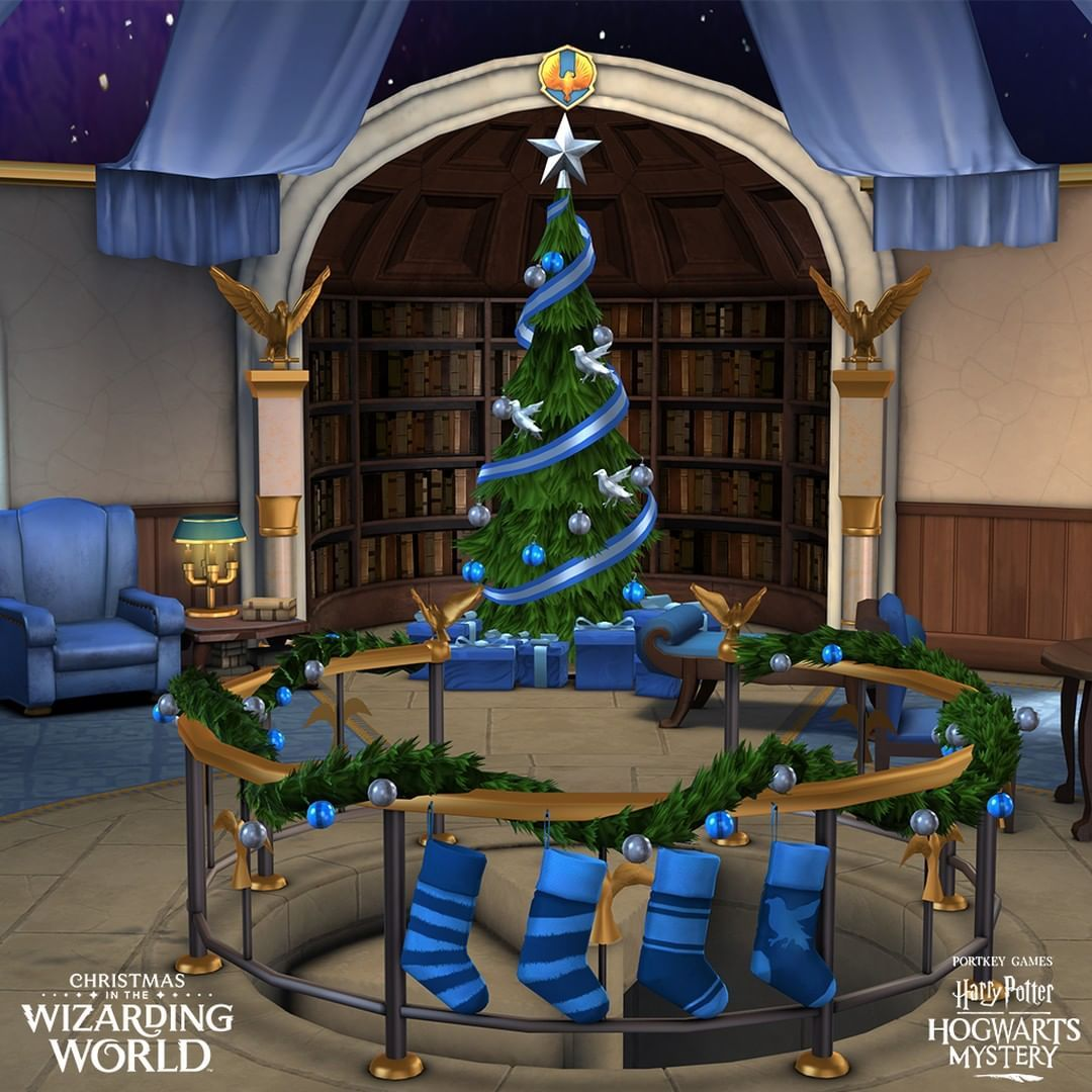 Hogwarts Mystery Christmas 2020 A #Ravenclaw Christmas break is spent getting ahead on school work