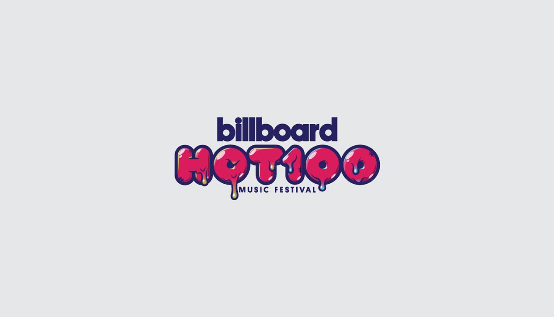 Billboard Hot 100 Festival 2016 Branding Creative On Behance Billboard Hot 100 Hottest 100 Branding