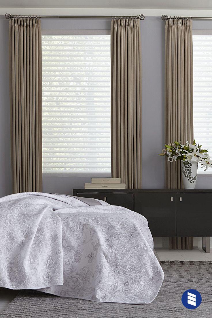Light Filtering Sheer Shade Drapes And Blinds Bedroom Curtains With Blinds Curtains With Blinds