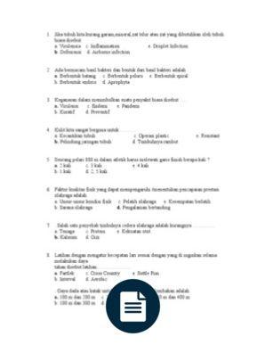 Contoh 10 Soal Pilihan Ganda Tentang Application Letters Beserta Jawabannya
