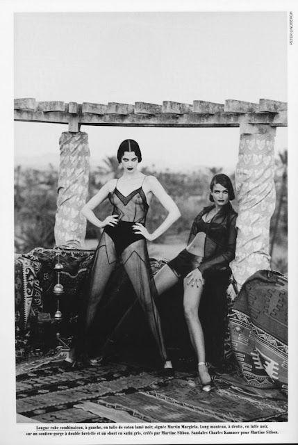 Peter Lindbergh Helena Kristensen Moda Parizha Supermodeli