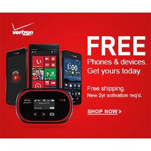 Verizon Wireless Free Phones Overnight S H