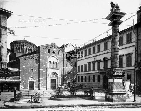 Chiesa di San Babila 1910 | da Milàn l'era inscì