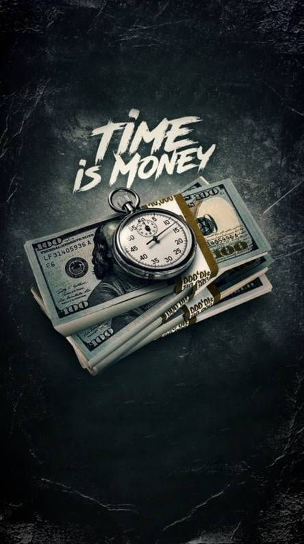 Time is Money Money wallpaper iphone, Cool wallpapers