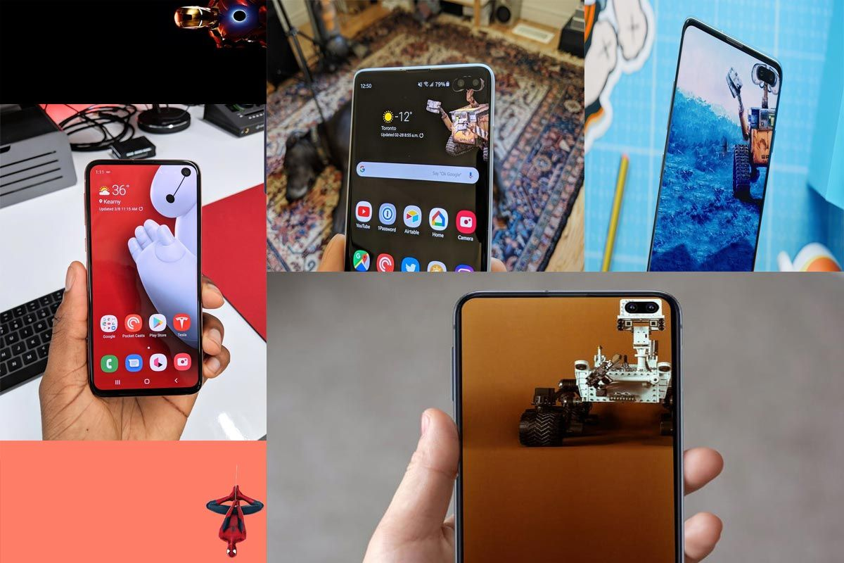 Samsung Galaxy S10 and S10 Plus Hole Punch QHD+ Wallpapers | Android