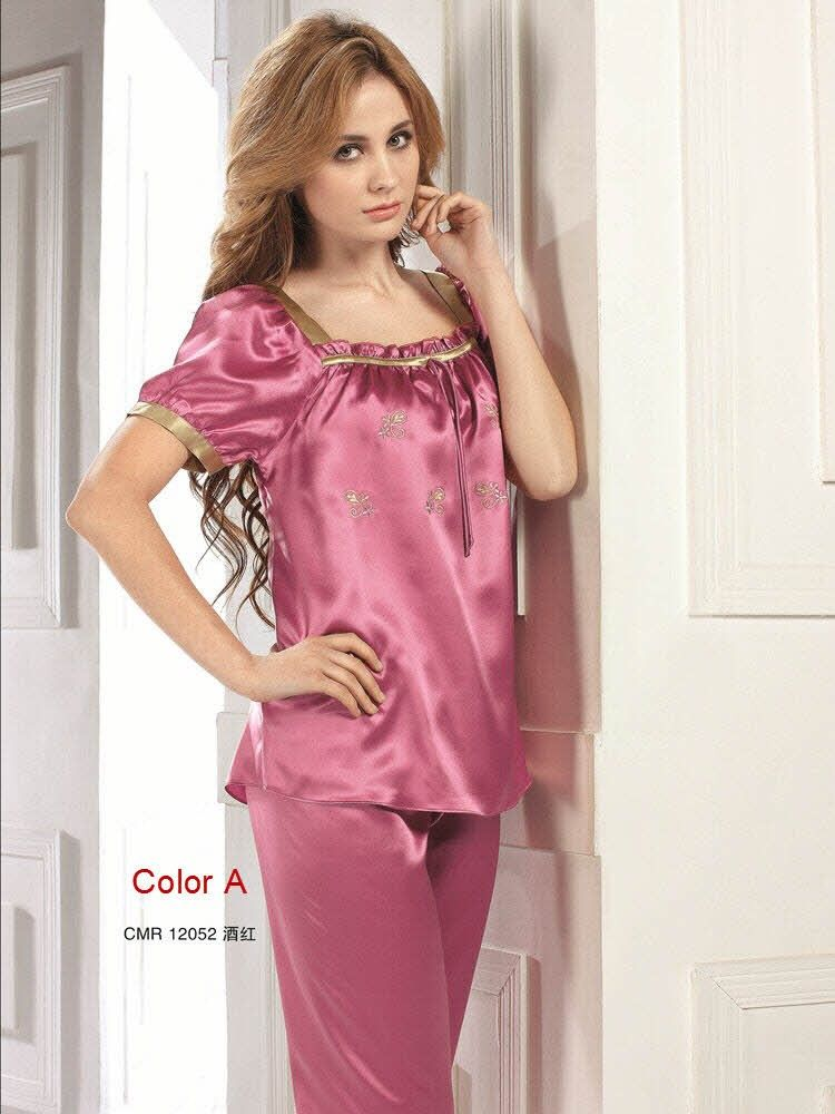 Silk Pajamas For Women | 100% Natural Cocoon Silk | Dreamware ...