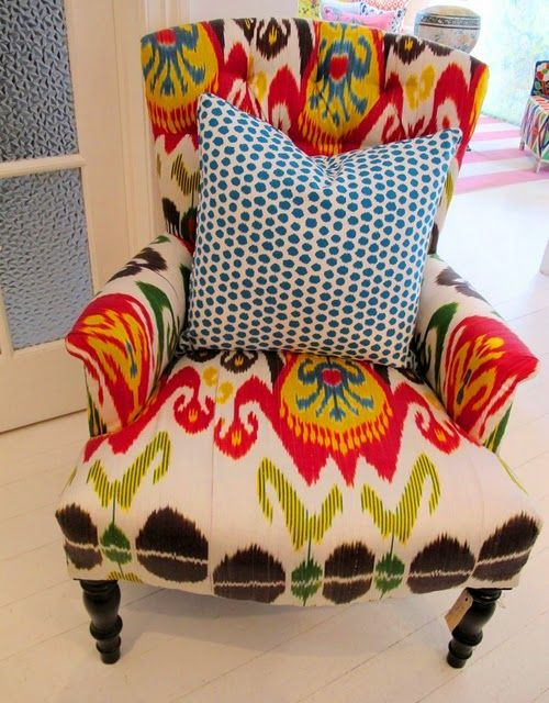Perfect I Love Everything About This Chair! Bright Jewel Tones And
