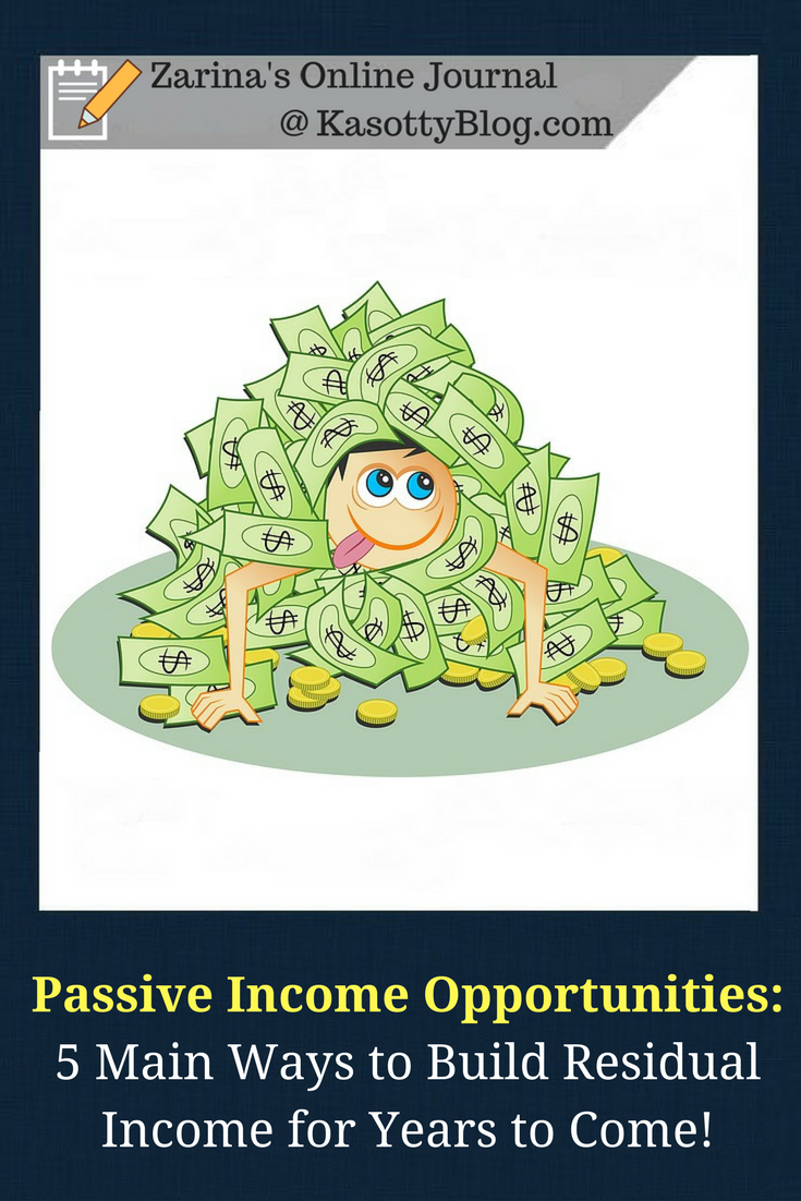 how to create residual income streams